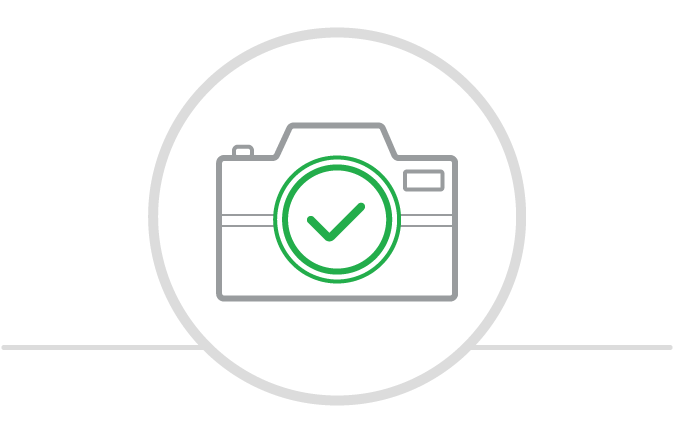 Use your camera to scan checks you want to cash